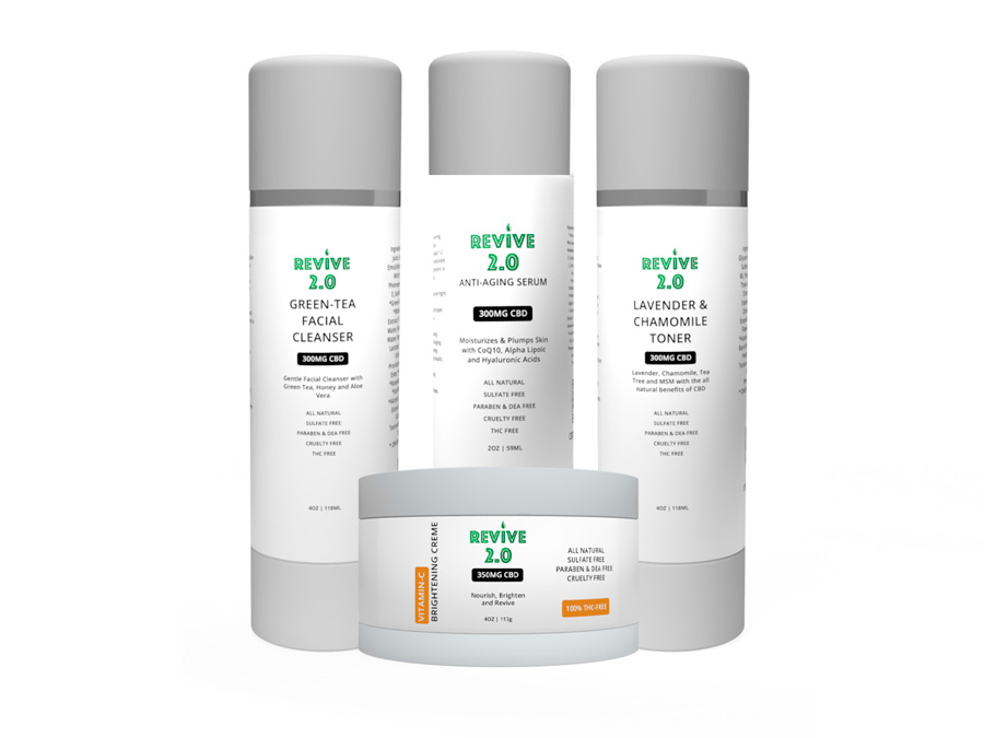 CBD Anti-Aging Sking Products